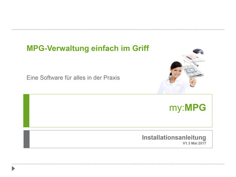 NWD - my:MPG Installationsanleitung